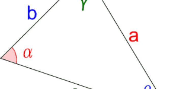 Teorema del coseno ben spiegato