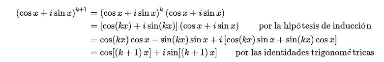 Teorema di Moivre e semplice spiegazione