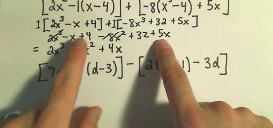 Come fare la moltiplicazione dei polinomi