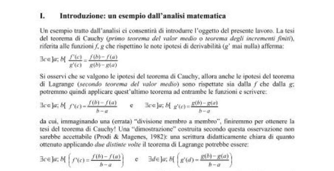 Spiegazione dettagliata del Teorema dell'esistenza